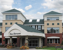 New Horizons Marlborough, Independent and Assisted Living main entrance